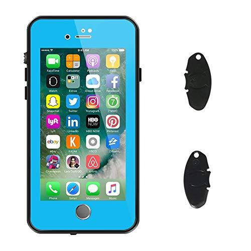 a3e9d260aef ImpactStrong Funda Impermeable iPhone 7/8, [ID de Huellas Dactilares  Compatible] Slim Protección de Cuerpo Completo para Apple iPhone 7 y 8 (4.7  Inch) ...