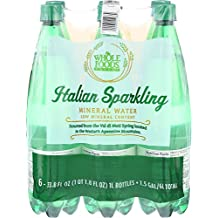 Whole Foods Market, Italian Sparkling Mineral Water, 6 ct