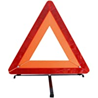 Maagen Emergency Warning Triangle Kit, TR-12455, Orange/Red