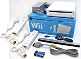 Nintendo Wii Video Game System 2-REMOTE, 2-NUNCHUK Bundle RVL-001 GameCube Family Console