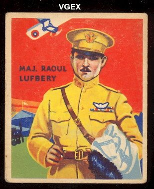 1934-national-chicle-sky-birds-non-sports-card-22-raoul-lufbery-of-the-48-back-vg-condition