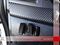 Rdash Dash Kit Decal Trim for Mitsubishi Lancer / Evolution 2008-2013 - Carbon Fiber 3D (Black)