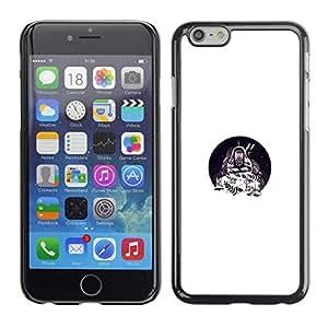 Jordan Colourful Shop - O Minimalist Letter Cute For iPhone 6 Custom black plastic Case Cover