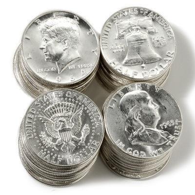 franklin-kennedy-silver-half-dollars