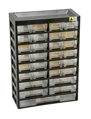 Allit 458100 Small Parts Cabinet''Varioplus Basic 47'' In Black/Yellow by Allit