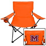 Maryville Deluxe Orange Captains Chair 'Primary Logo'