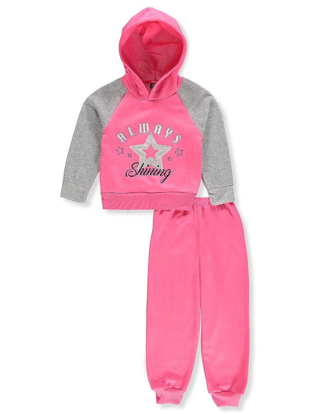 a14ba3d98a Amazon.com: Angel Face Big Girls 2-Piece Sweatsuit Pants Set - Gray ...