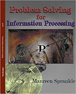 Book Problem Solving for Information Processing by Maureen Sprankle (2001-04-25)