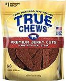 True Chews Tyson Premium Jerky Cuts Dog Treats, Steak, 20 Ounce, 8 Pack