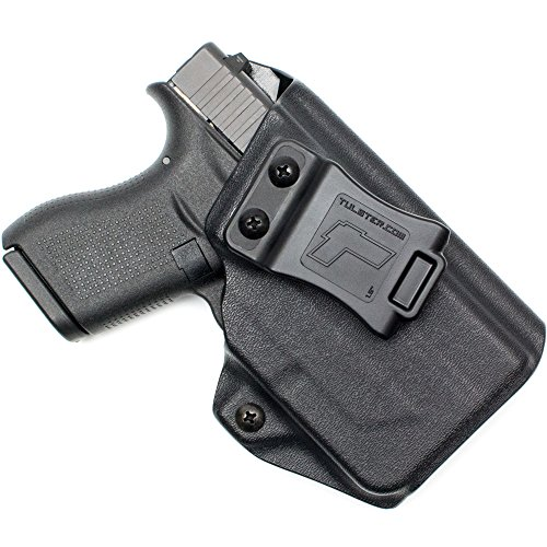 - Tulster Glock 42 w/TLR-6 Holster IWB Profile Holster (Black - Right Hand)