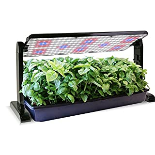 AeroGarden 45w LED Grow Light Panel, Black