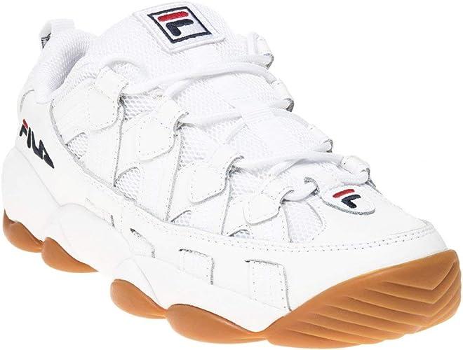 Fila Spagetti Homme Baskets Mode Blanc:
