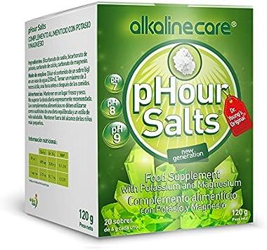 pHour Salts 20 sobres Alkaline Care: Amazon.es: Salud y cuidado personal