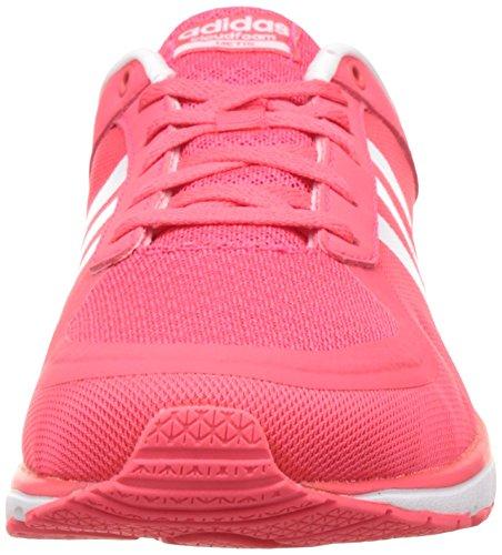 adidas Cloudfoam Metis W, Zapatillas De Deporte para Mujer Rojo (Rojimp / Ftwbla / Rojimp)
