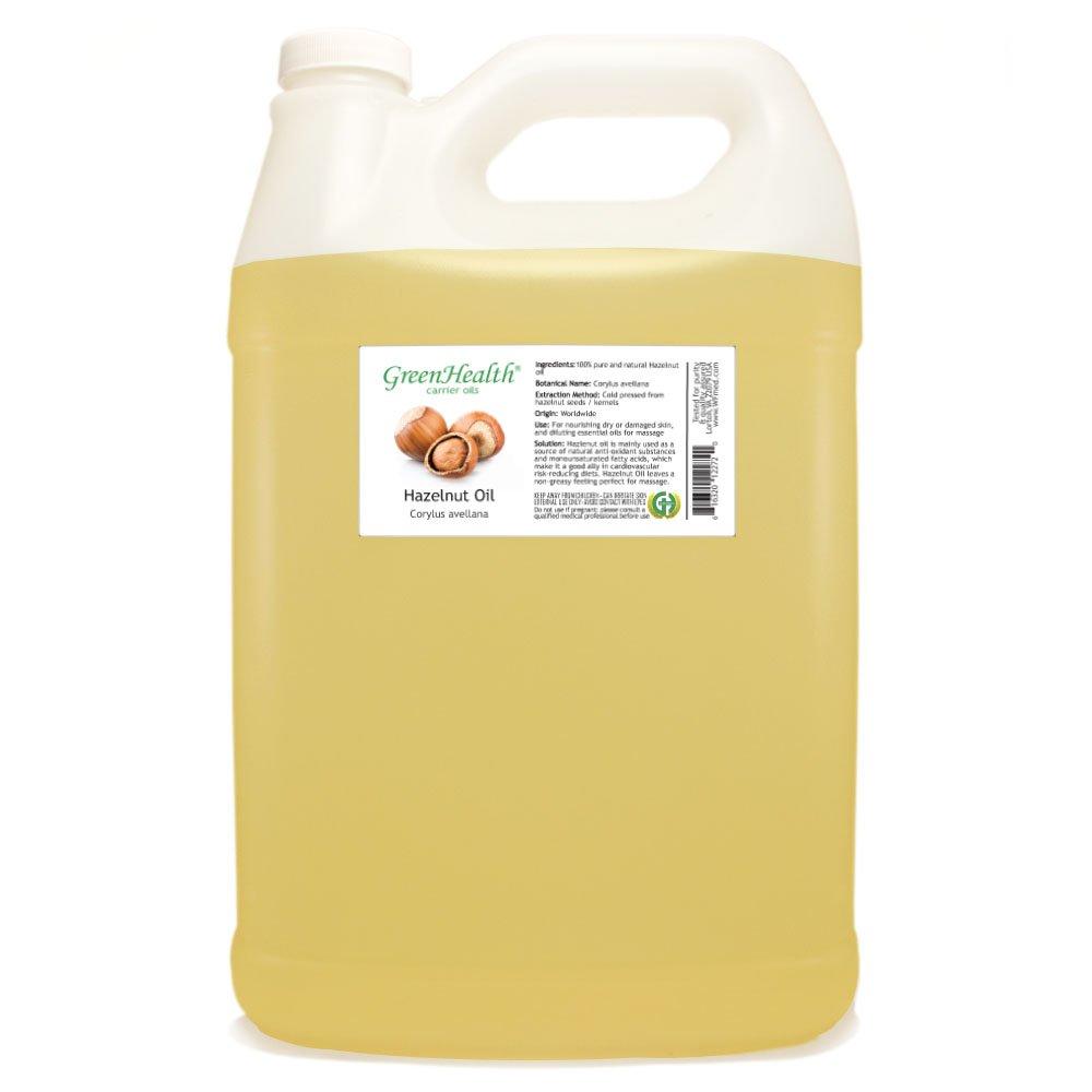 GreenHealth Hazelnut Oil - 1 Gallon - 100% Pure Cold Pressed by GreenHealth