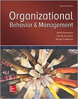 Organizational Behavior and Management - Livros na Amazon