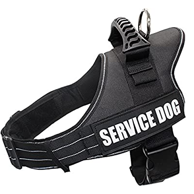 Dog Harness PETFLY Adjustable Dog Harness No Pull Harness for Dogs