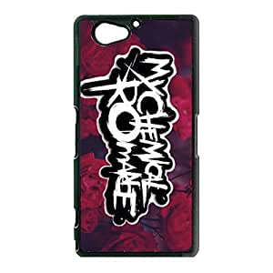 Hot Logo My Chemical Romance Phone Case Cover For Sony Xperia Z2 Compact/Z2 mini MCR Luxury Pattern