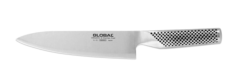 Global Knives G-55 - Cuchillo de chef (acero inoxidable ...