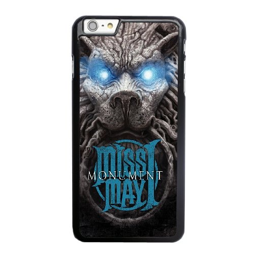 Coque,Coque iphone 6 6S 4.7 pouce Case Coque, Miss May I Monument Cover For Coque iphone 6 6S 4.7 pouce Cell Phone Case Cover Noir