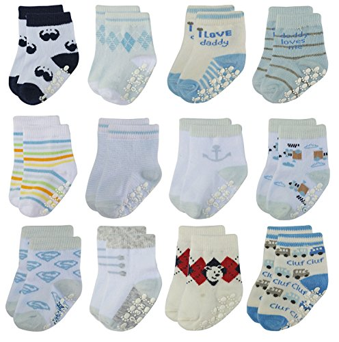deluxe-anti-non-skid-slip-slipper-crew-socks-with-grips-for-newborn-baby-boys-newborn-0-3-months-12-