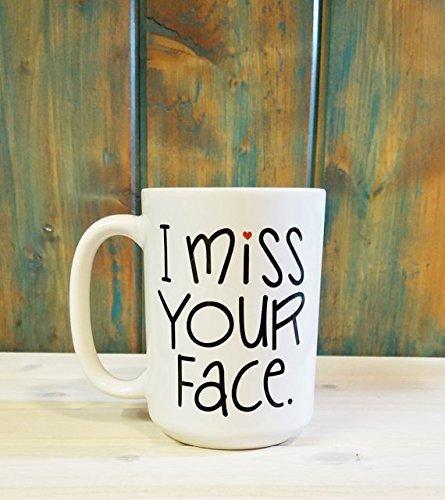 I miss your face mug, Sisters mug, Sister gift, Best friends mug, Best friend gift, Long distance mug, Going away gift, Long distance relationship