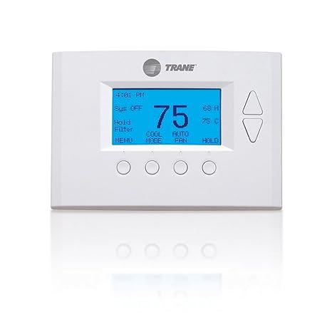 Trane TZEMT400BB3NX NN SL Home Energy Management Thermostat with Nexia Home  Intelligence, White (Z-Wave)