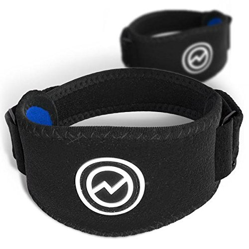 2-Pack Tennis Elbow Brace with Compression Pad by WIMI Sports - Best Forearm Straps for Tendonitis - Relieves Tennis Elbow and Forearm Pain - Includes Two Elbow Support Braces