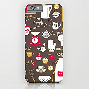 Teatime Treat for iPhone 6 plus Case, TPU iPhone 6 plus Case