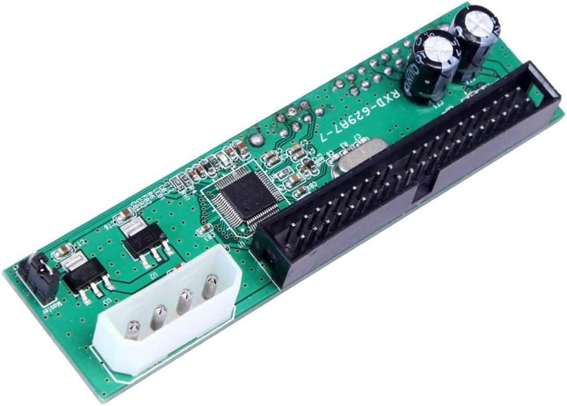 OWNTHRE Computadora IDE//EIDE//Pata de al convertidor del Adaptador de la Interfaz del Disco Duro SATA para la PC