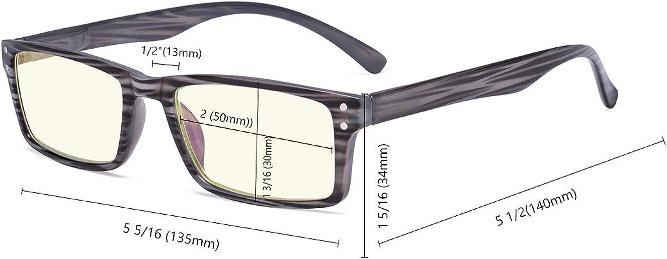 Anti Blue Rays Blendschutz Kratzfestes Objektiv Computer Lesebrille Leser Eyekepper Spring Scharniere UV-Schutz