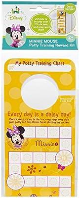 Disney Minnie Mouse Potty Training Reward Kit, Door Hang Version