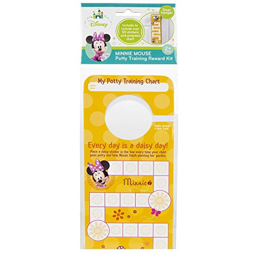 (Disney Minnie Mouse Potty Training Reward Kit, Door Hang Version)