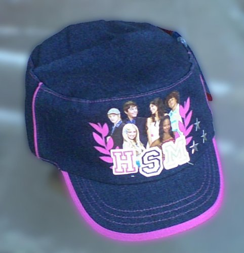 [Stylish High School Musical Flat Top Cap - For Kids and Teens] (Hsm Costumes)