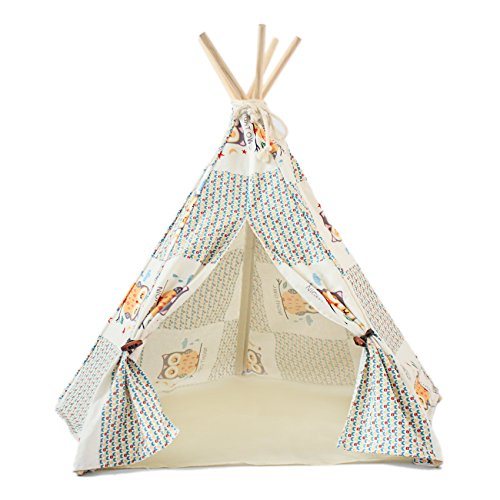 little dove Canvas Teepee Kennels product image