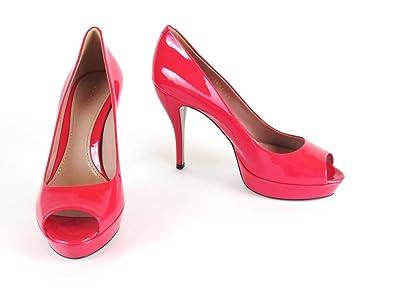 b896f95f45019 Gucci *Sale Women´s Peep-toe Pumps, patent leather, shocking pink ...