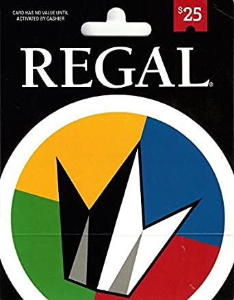 Amazon.com: Regal Entertainment Gift Card $25: Gift Cards
