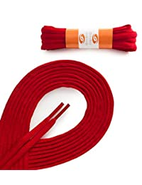 OrthoStep Oval Athletic Shoelaces 2 Pair Pack