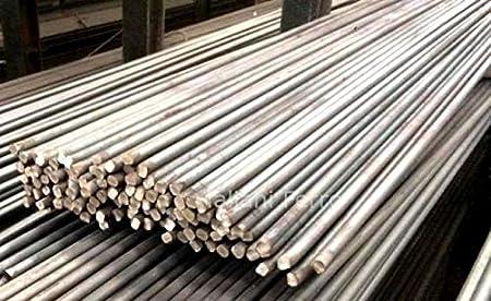 Barra redonda hecha de hierro forjado liso y rugoso con un diámetro de 14 mm. Longitud 3 metros.