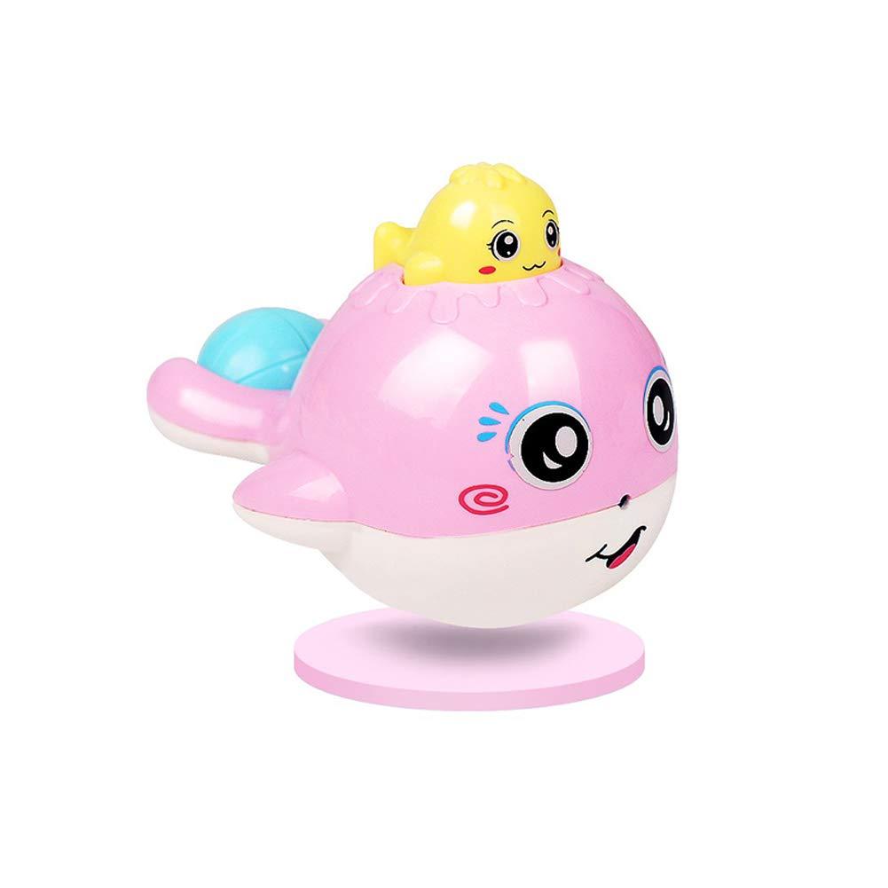 Naisicatar Gummi-Baby-Bad-Spielzeug-Squeeze Walspielzeug Blauwal Soft Toy Gummi-Wal-Bad-Spielzeug für Baby-Rosa Sehr erschwinglich und dauerhaft von Kinderspielzeug