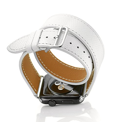 FOTOWELT Genuine Leather Replacement 38mm White product image