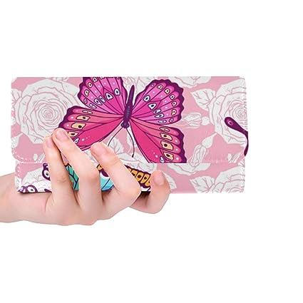 Único Personalizado Hermosas Rosas Mariposas Coloridas ...