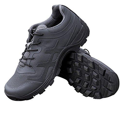 Pour Soldier D'escalade Respirant Antidérapant Hommes Free Chaussures Randonnée Gris Marche FpBvxqS