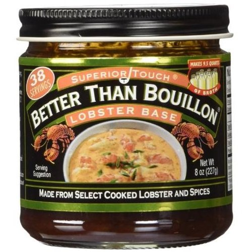 Better Than Bouillon Lobster Base broth 8.0 OZ (Pack of 3)