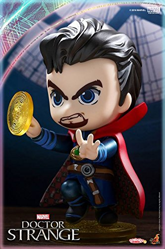 Hot Toys Cosbaby Doctor Strange Pvc Figure Collectible Model Toy 8cm Action & Toy Figures
