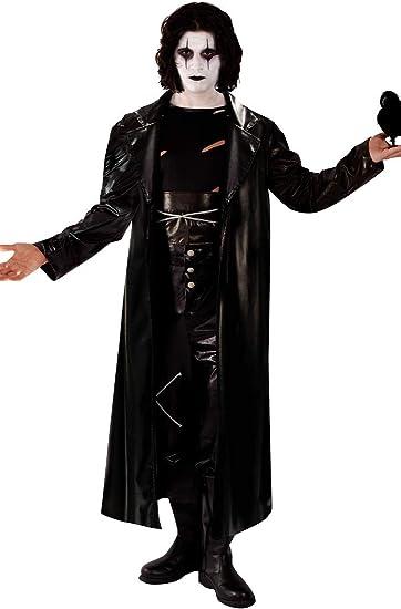 Disfraz de El Cuervo Vengador Gótico de Rock para Halloween de ...