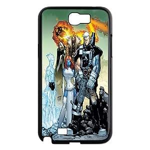 Samsung Galaxy N2 7100 Cell Phone Case Black_Xmen Zcqie