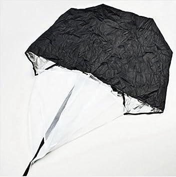 """HM 1 pieza resistencia ejercicio 56 """"paracaídas de entrenamiento de velocidad paraguas Running Power"""