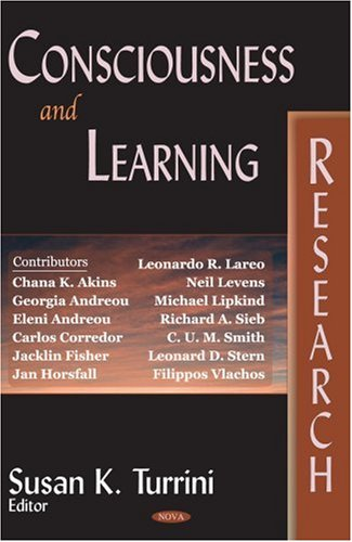 Consciousness And Learning Research ebook
