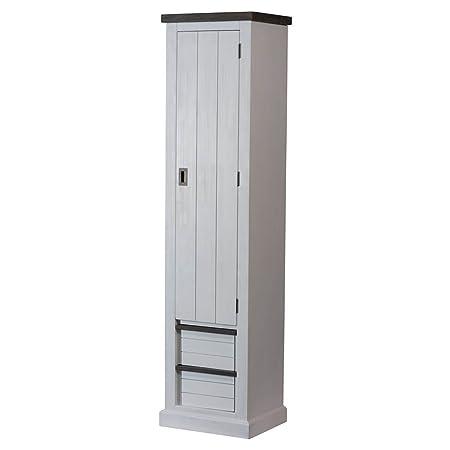 Garderobenschrank tiefe 40 cm for Flurschrank landhausstil
